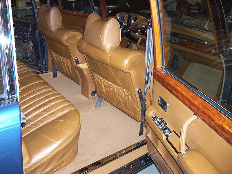 restorations interior wood leather carpet. Black Bedroom Furniture Sets. Home Design Ideas