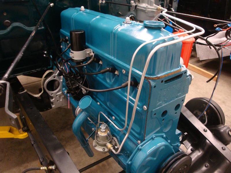 1953-Chevy-3100-Restoration-Work-Progress  Chevy Engine Wiring Diagram on