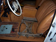 1972 Mercedes 600 drivers seat removed