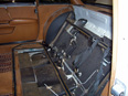 1972 Mercedes 600 rear seat removed