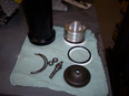 Mercedes-Benz-M100-W100-Rebuilt-Accumulator-New-Piston-Seals-properly-Charged