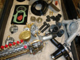 Mercedes-Benz-W100-M100-Rebuilt-Injection-Pump-Rebuilt-Water-Pump-Cold-Start-Valves