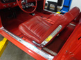 freshly upholstered seat for a 1965 Mustang 289